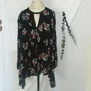 Audrey 3+1 floral print swing dress S